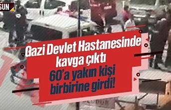 Son Dakika Samsun Haber - Samsun Gazi Devlet Hastanesi'nde kavga çıktı, video izle, Tekkeköy'de silahlı çatışma