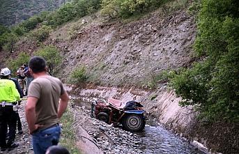 Tokat'ta traktör sulama kanalına devrildi: 1 ölü