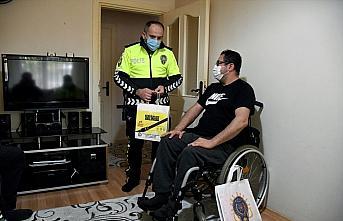 Trafik kazası nedeniyle tekerlekli sandalyeye mahkum...