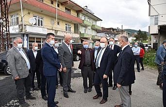 Zonguldak Valisi Mustafa Tutulmaz'dan köy ziyaretleri
