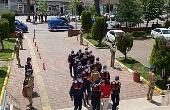 Zonguldak'ta sahte paraları piyasaya sürdükleri iddiasıyla 4 şüpheli tutuklandı