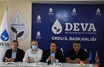 DEVA Partisi Ekonomi ve Finans Politikaları Başkanı Çanakçı basın mensuplarıyla buluştu