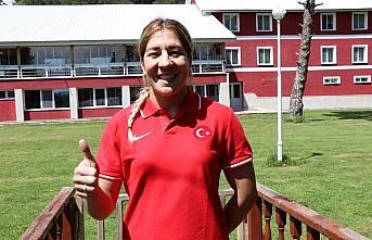 Milli güreşçi Yasemin Adar, olimpiyatlar için Bolu'da güç depoluyor