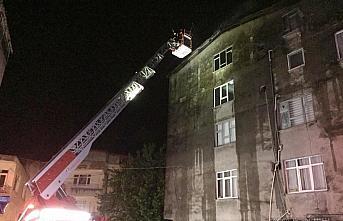 Ordu'da bir daire ve çatıda çıkan yangın hasara neden oldu