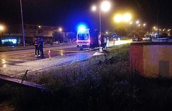Samsun'da otomobilin çarptığı bisiklet sürücüsü öldü