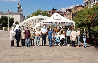 Bartın'da 152 bin 995 doz Kovid-19 aşı sayısına ulaşıldı