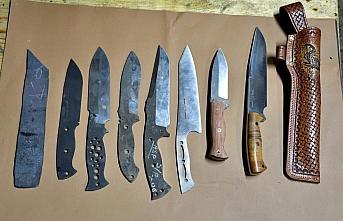 Çorumlu Abdulsamet ustanın bıçakları yurt dışında da alıcı buluyor