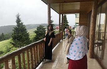Giresun'un Dereli ilçesi Kurban Bayramı'nda binlerce turisti ağırladı