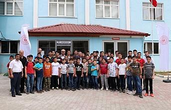 Havza'da Kur'an kursu öğrencilerine yönelik sportif aktivite düzenlendi