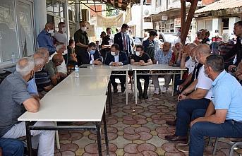 İçişleri Bakan Yardımcısı Çataklı, Düzce'de yaşanan selin ardından incelemelerde bulundu: