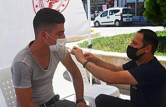 Vali Masatlı, Amasya'da en az bir doz aşı olanların oranının yüzde 75'i geçmesini değerlendirdi