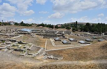 Alacahöyük Ören Yeri'ndeki arkeolojik kazılara yabani ot temizliğinin ardından başlanacak