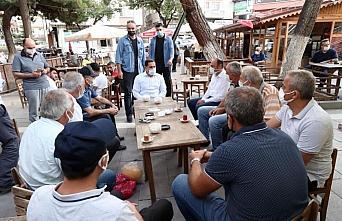Amasya Valisi Masatlı, Merzifon'da incelemelerde bulundu