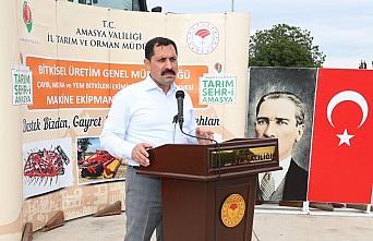 Tarım ve Orman Bakanlığından Amasya'ya tarımsal ekipman desteği
