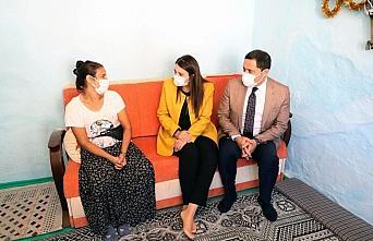 Vali Masatlı ve eşi, şehit ailesi, yetim ve yaşlı vatandaşlara ziyaretlerde bulundu