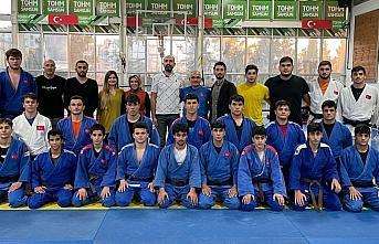 Erkek Judo Genç ve Ümit Milli Takımı Samsun kampı devam ediyor