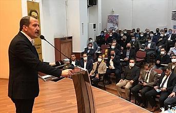 Memur-Sen Genel Başkanı Yalçın, Zonguldak Divan Toplantısı'nda konuştu: