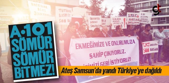 A 101'de Skandal, Yeni Slogan Sömür Sömür Bitmez!