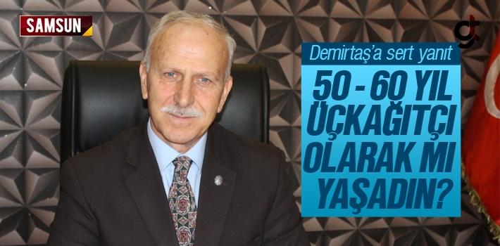 Abdullah Karapıçak'tan Demirtaş'a Sert Yanıt;...
