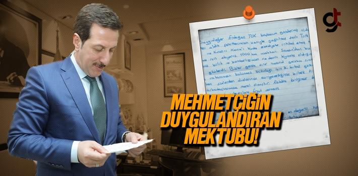 Afrin'den Gönderilen Mektup Başkan Erdoğan Tok'u...