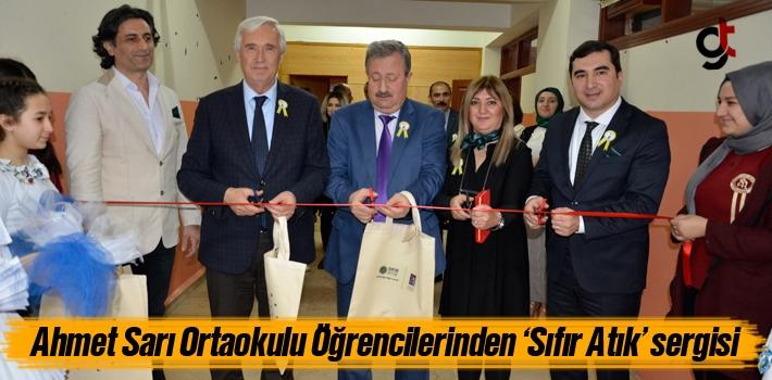 Ahmet Sarı Ortaokulu Öğrencilerinden 'Sıfır...