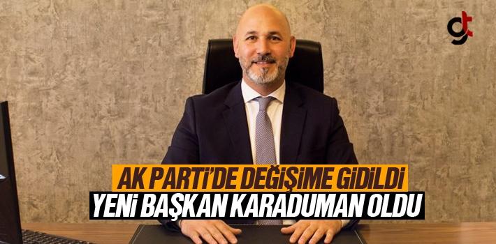 AK Parti Samsun İl Başkanı Hakan Karaduman Oldu
