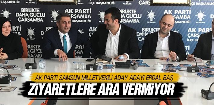 AK Parti Samsun Milletvekili Aday Adayı Erdal Baş...