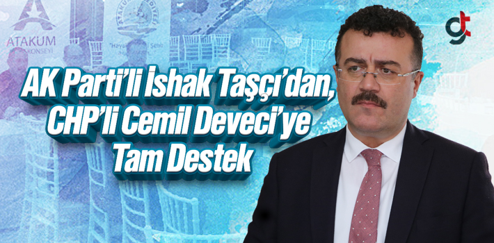 AK Parti'li İshak Taşçı'dan, CHP'li Cemil...