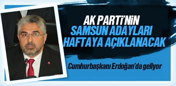 AK Partinin Samsun Belediye Başkanları Adayı Açıklanma...