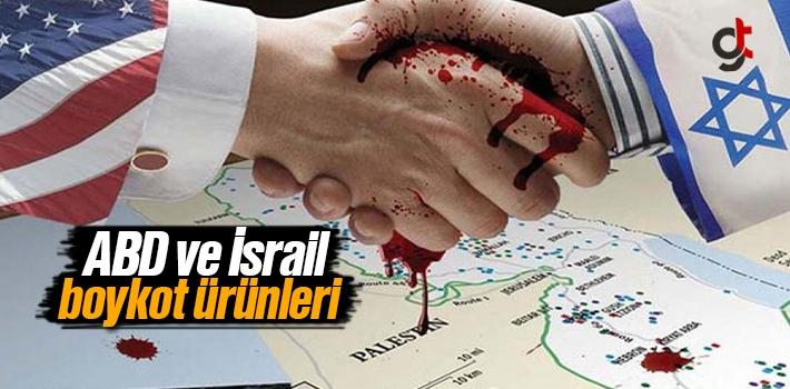 Amerika (ABD) ve İsrail (Yahudi) Malları Ürünleri...