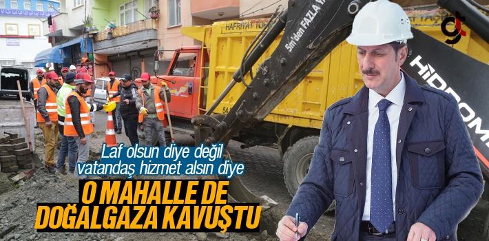 Anadolu Mahallesi'ne Doğalgaz Çalışmaları Başladı