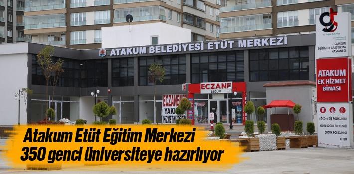 Atakum Belediyesi Etüt Merkezi 350 Genci Üniversiteye...