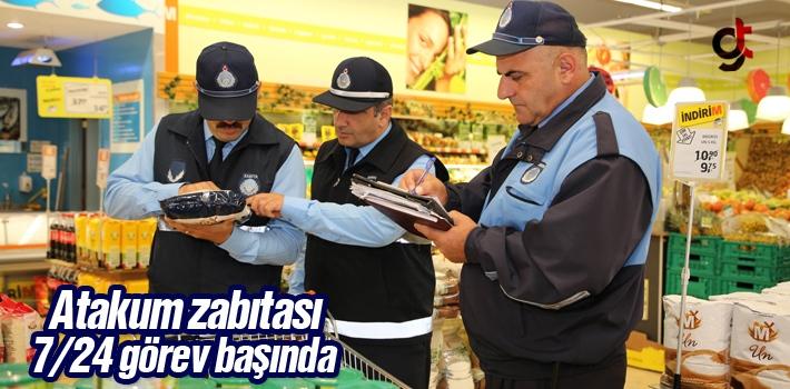 Atakum Zabıtası 7/24 Görev Başında Fırsatçılara...