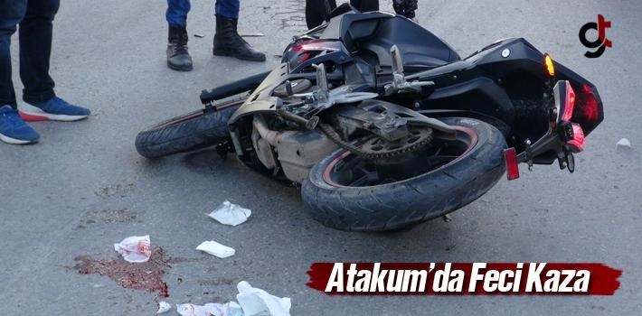 Atakum'da Feci Kaza