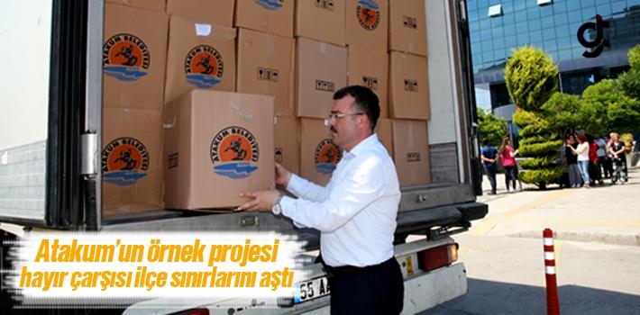 Atakum'un Örnek Projesi Hayır Çarşısı İlçe...
