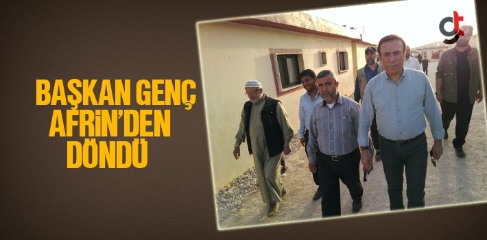 Başkan Genç Afrin'den Döndü