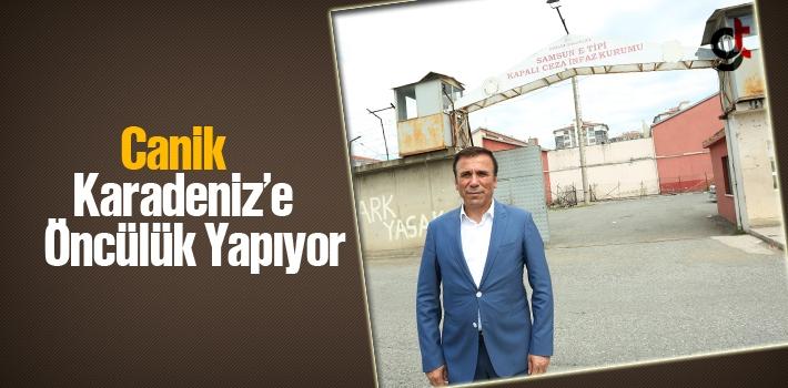 Başkan Genç, Canik Karadeniz'e Öncülük Yapıyor
