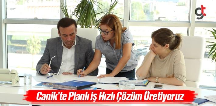 Başkan Genç, Canik'te Planlı İş Hızlı Çözüm...
