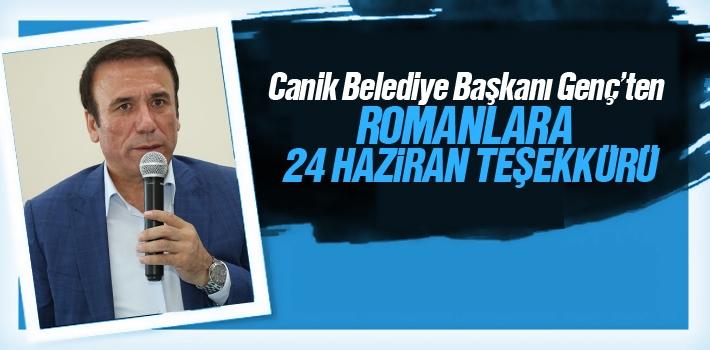 Başkan Genç'ten, Romanlara 24 Haziran Teşekkürü