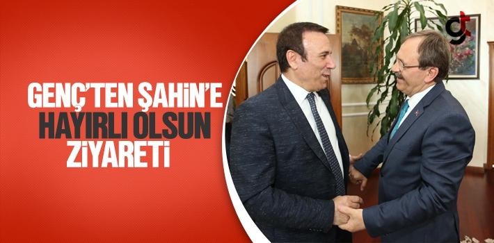 Başkan Genç'ten Şahin'e Hayırlı Olsun Ziyareti...