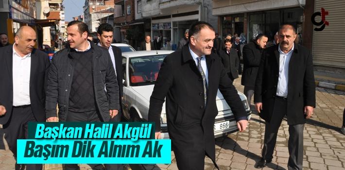 Başkan Halil Akgül, Başım Dik Alnım Ak!