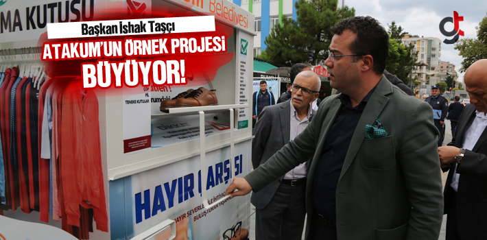 Başkan İshak Taşçı, Atakum'un Örnek Projesi...