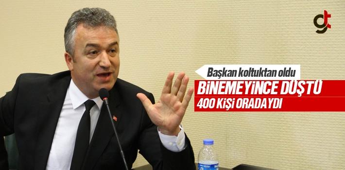 Başkan Osman Topaloğlu Kaza Geçirdi