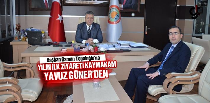 Başkan Osman Topaloğlu'na Yılın İlk Ziyareti...