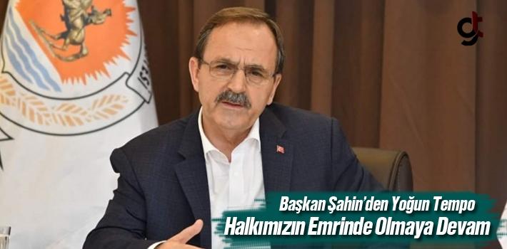 Başkan Şahin'den Yoğun Tempo 'Vizyonumuz Samsunlular...