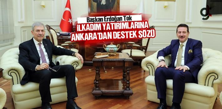 Başkan Tok, İlkadım Yatırımlarına Ankara'dan...