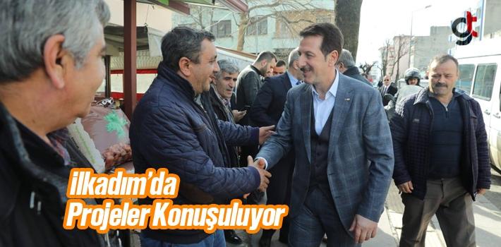 Başkan Tok, İlkadım'da Projeler Konuşuluyor