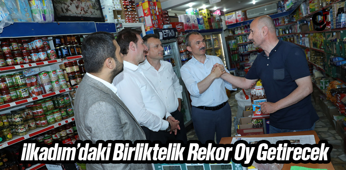 Başkan Tok, İlkadım'daki Birliktelik Rekor Oy...