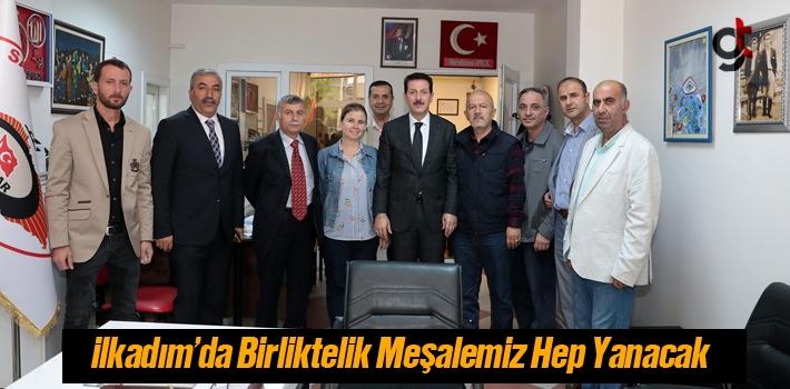 Başkan Tok, İlkadım'da Birliktelik Meşalemiz Hep...