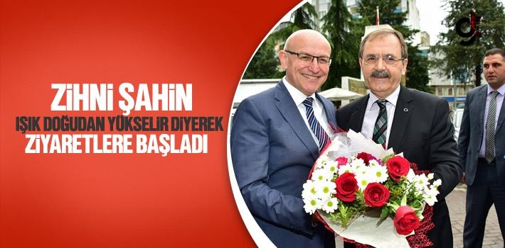 Başkan Zihni Şahin, Işık Doğudan Yükselir Diyerek...